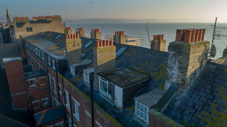 Aerial Roof Inspection Dorset