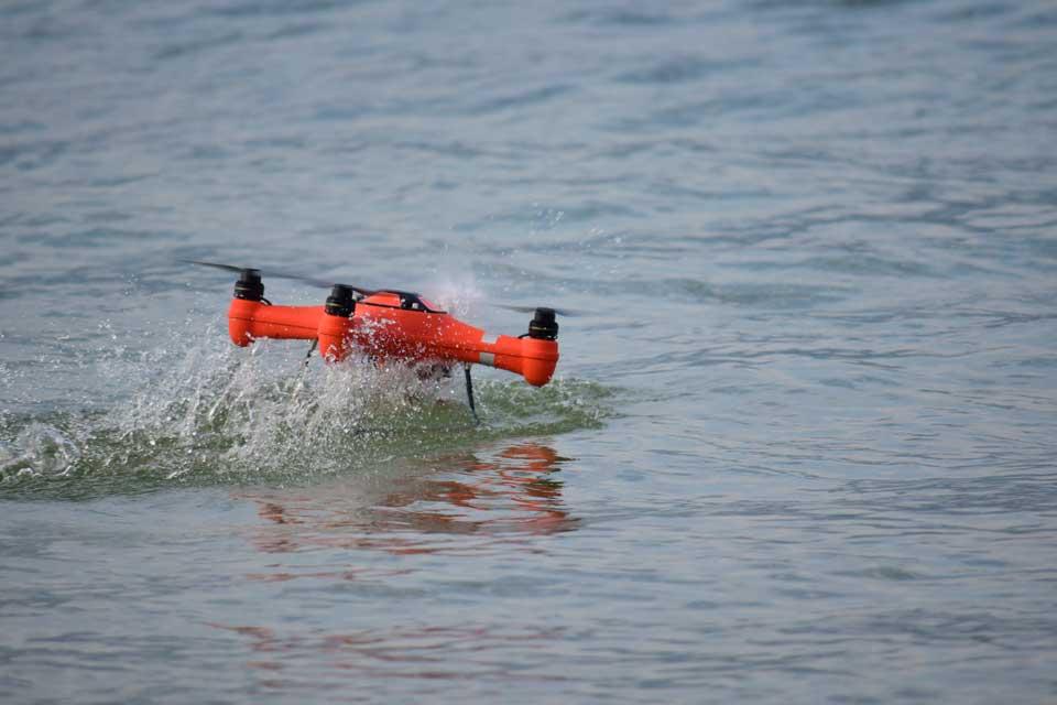 waterproof drone photo